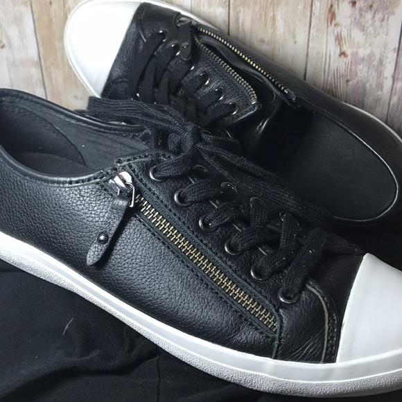 Coach Shoes | Coach Black Leather Side